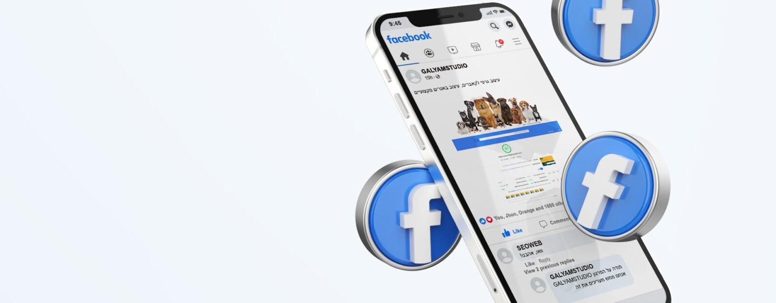 ניהול דפי פייסבוק